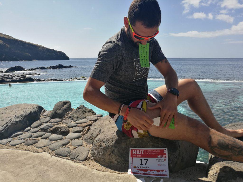 Jordi Gamito corre la MIUT 2017 con Nutritape